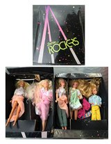 5 Barbies and Barbie case in Bartlett, Illinois