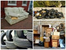 TRASH & JUNK REMOVAL/PCS/PICK UP & DELIVERY/YARD -015237605502 in Ramstein, Germany