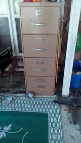 File cabinet in Baytown, Texas