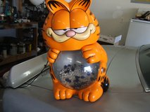 Garfield fish tank in Camp Lejeune, North Carolina