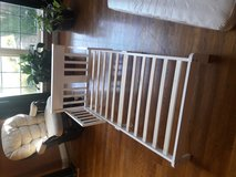 White wooden toddler bed in Fort Knox, Kentucky
