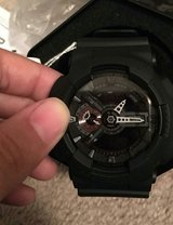 Casio G Shock watches, black and camo brand new nvr used in Fort Benning, Georgia