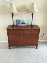 Accent Table and Lamps in Baytown, Texas