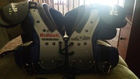 Football shoulder pads in Conroe, Texas