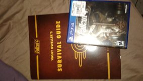 New price! Fallout 4 PS4 with Vault dwellers guide in Eglin AFB, Florida