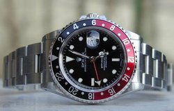 MUST SEE !! CLASSIC RED/BLK ROLEX GMT MASTER AUTOMATIC WATCH in Yuma, Arizona
