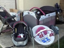 Graco swing,play n go,stroller, and car seat in Lackland AFB, Texas