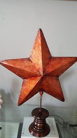 Beautiful star decor in Lockport, Illinois
