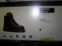 Dr.Martens Steel toed boots. in Fort Leavenworth, Kansas