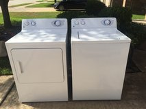 GE Washer and Dryer in Sugar Land, Texas