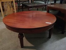 Round coffee table in Fort Polk, Louisiana