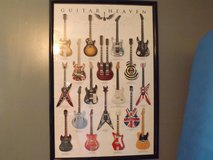 Guitar Heaven Poster and Frame in Camp Lejeune, North Carolina