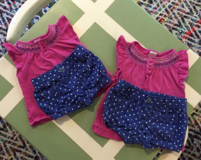 2T and 6-12 month gymboree matching outfits in Beaufort, South Carolina