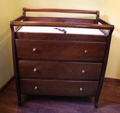 Crib & Changing Table Set in Belleville, Illinois