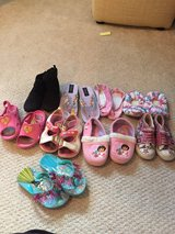 Size 8 girl toddler shoes in Tinley Park, Illinois