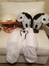 YOUTH FOOTBALL SET Size Small (Helmet, Pads & Pants) in Fort Bliss, Texas