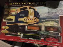 Life like Santa Fe train set in Lockport, Illinois