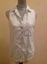 Light Colored Jean Shirt Size Small in Kingwood, Texas