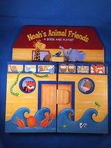 Noah's Animal Friends book and playset - NEW in Vacaville, California