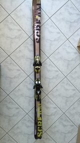 Skis - 175cm and ski poles in Ramstein, Germany