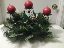 3 Candle Pine Arrangement in Eglin AFB, Florida