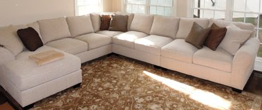 8-seat sectional - impeccable! in Fairfax, Virginia