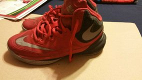 Red Nikes in Fort Bliss, Texas