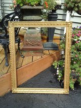 Large decorative gold frame in Naperville, Illinois