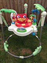 Fisher-Price Rainforest Jumperoo Bouncer in Minneapolis, Minnesota