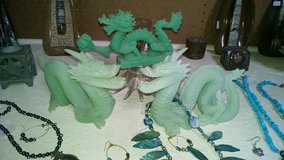Glow in the dark dragons in Alamogordo, New Mexico