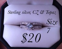 Topaz Sterling Silver Ring in Fort Campbell, Kentucky