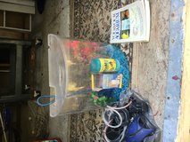 10 Gal Aquarium with supplies in Beaufort, South Carolina