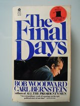 """The Final Days"" by Bob Woodward & Carl Bernstein in Stuttgart, GE"