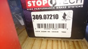 StopTech 309.07210 Street Performance Front Brake Pads (Subaru Legacy, WRX?) in Ramstein, Germany