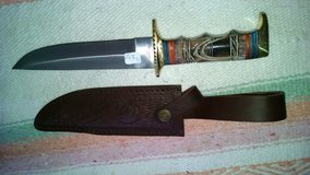 Sheath and knife in Alamogordo, New Mexico