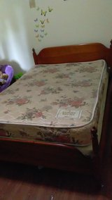 Full Size Bed with mattress and box springs in Madisonville, Kentucky