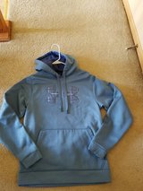 Under Armour blue hoodie sweater men in Naperville, Illinois