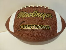 MacGregor Official Size First Down Football (Tan, Medium) in Okinawa, Japan