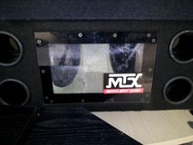 "MTX 8"" Powerful Dual Subwoofer box(Reduced) in Fort Campbell, Kentucky"