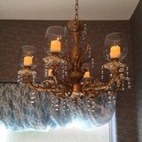 Upcycled Chandelier w/ Remote in Conroe, Texas