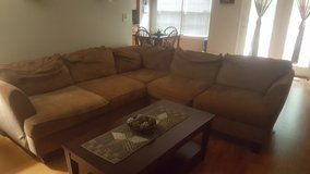 Ashley Sectional Sofa w/ coffee table in Fort Campbell, Kentucky