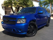 Chevy Avalanche Candy Blue in Fort Irwin, California