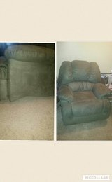 Sage Color Recliner from Ashley's Funiture in Tyndall AFB, Florida