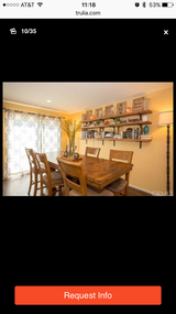 Dining Tabe with 6 barstool chairs in Temecula, California
