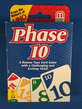 Phase 10 card game - Nearly New in Travis AFB, California