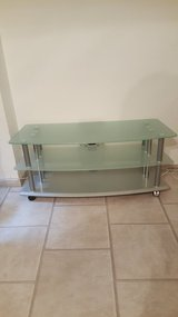 TV Stand (Tempered Glass) in Summerville, South Carolina