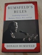 Rumsfeld's Rules: Leadership Lessons in Business, Politics, War and Life. Signed Copy in bookoo, US