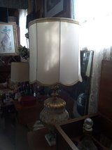 Antique lamp brass and marble base in Kankakee, Illinois