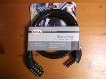 NEW**BELL MOTORCYCLE CABLE LOCK in Okinawa, Japan