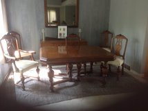 Dining Room Table and Chairs in Kankakee, Illinois